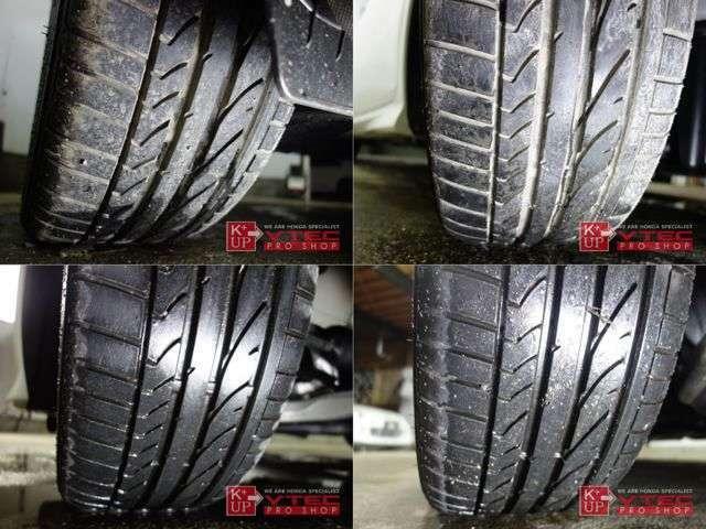 タイヤの溝もたっぷり!購入後にタイヤ交換などが必要な車両ではございません!タイヤ交換やシーズンタイヤもお任せください。車両コンディションに関するご質問、ご来店のご予約もお気軽にお問い合わせください!