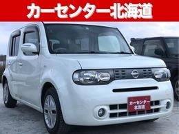日産 キューブ 1.5 15X FOUR Vセレクション 4WD 1年保証 ナビTV スマキー 寒冷地 禁煙