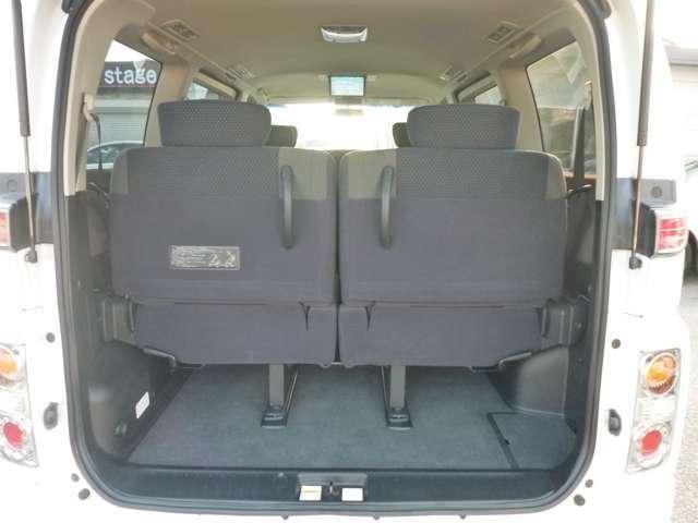 開口部が低いから大きな荷物も余裕で積み込み可能です。