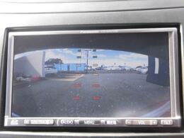 車庫入れの心強い味方、バックカメラも装備されています!