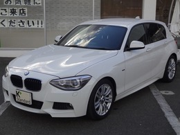 BMW 1シリーズ 120i Mスポーツ 1オーナ 電動シート HDDナビ Bカメラ ETC