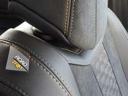 シートにはオレンジ&グレーのステッチが施されています。また、フロントシートにはROADTRIPロゴデザインのタグがあしらわれています。【プジョー大府:0562-44-0381】