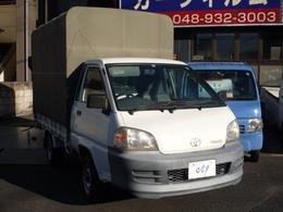 トヨタ タウンエーストラック 1.8 DX スーパーシングルジャストロー スチールデッキ 三方開 幌付オートマ 10500キロ
