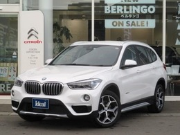 BMW X1 xドライブ 18d xライン 4WD 半革シート 純正HDDナビ LEDライト Bカメラ