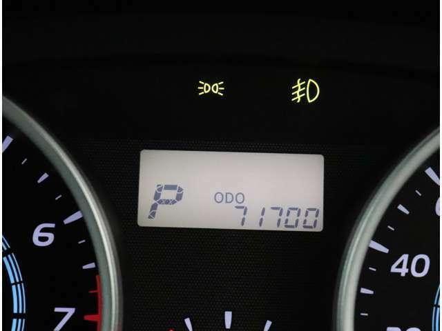 走行71700km