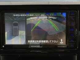 【マルチアラウンドモニター】全方位の安全確認ができます。駐車が苦手な方にもオススメな便利機能です。