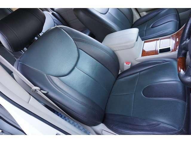 ★【革調シートカバー】運転席シートのコンディションをご確認下さい!!★