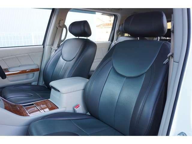 ★【革調シートカバー】助手席シートのコンディションをご確認下さい!!★