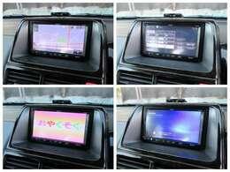 社外ナビが装備されております♪画面もクリアで運転中も確認しやすいです♪フルセグTVとDVDの視聴もお楽しみ頂けます♪Bluetooth機能もありますのでお好きな音楽もお聴きいただけます♪