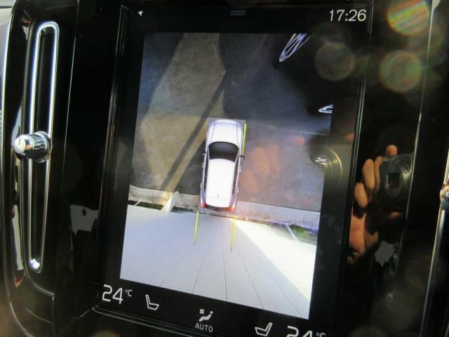 360°ビューカメラ 画像をタップするとお好みの画像へ切り替え可能