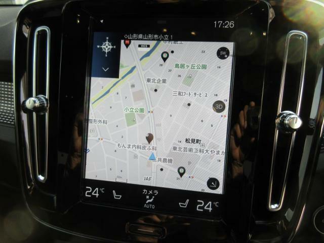 タッチスクリーン式9インチセンターディスプレイ(ナビオーディオ空調車両設定)を簡単に行えます。