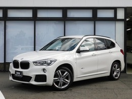 BMW X1 xドライブ 18d Mスポーツ 4WD 弊社下取1オーナーACC黒革HUD前後ドラレコ