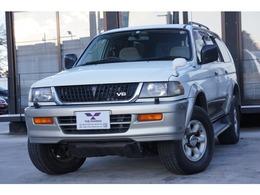 三菱 チャレンジャー 3.0 XR ワイドボディ 4WD 1オーナー禁煙車 Tベルト交換済 サンルーフ