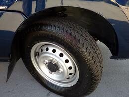 タイヤの溝は充分です。車両点検渡しですから再度点検で確認致します。
