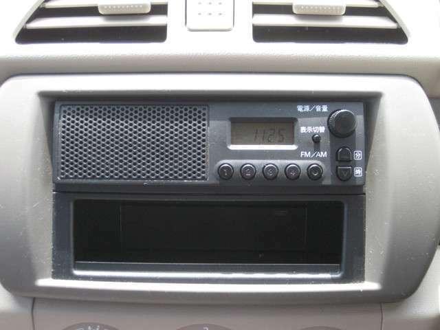 純正スピーカー内蔵ラジオプレーヤーです!お好みの放送局をお楽しみください!