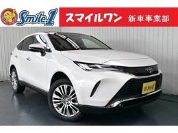 トヨタ ハリアー 2.0 Z 新車/装備9点付き TVナビキット