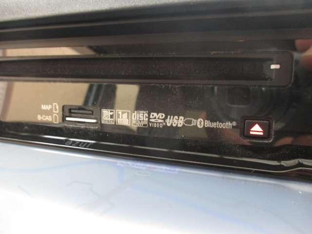 フルセグ・CD・DVD再生・USB・Bluetooth等、充実した機能が装備されています☆