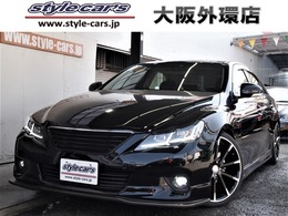 トヨタ マークX 2.5 250G リラックスセレクション LEDヘッド 車高調 19インチ