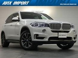 BMW X5 xドライブ 35d xライン 4WD セレクトP 7人乗り 黒革 HDDナビ ACC 1オナ