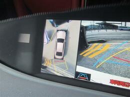全周囲カメラ・バックカメラの装備で後方駐車に役立ちます。デジタルインナーミラーも装備です。