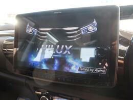 新品11型BIGXが装備されています♪オープニング画面が車種専用でかっこいいですね♪フルセグで画質もきれいナビです♪