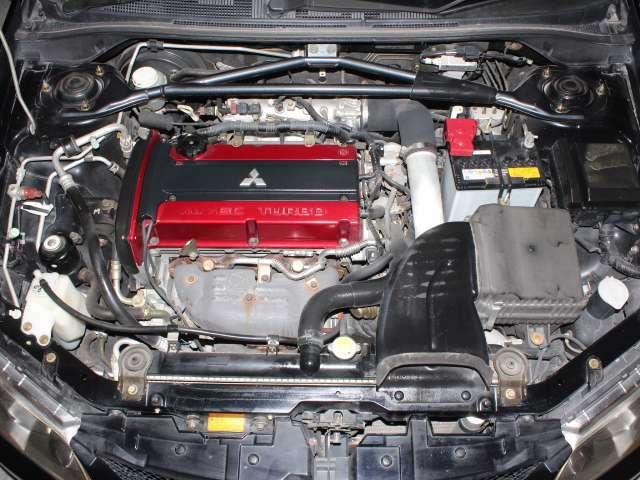 直列4気筒DOHC16バルブICターボ エンジン型式 4G63MIVECターボ