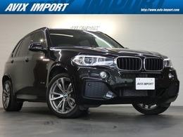 BMW X5 xドライブ 35i Mスポーツ 4WD セレクトP 7人乗り 黒革 純正ナビ OP20AW