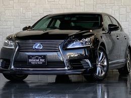 レクサス LSハイブリッド 600h バージョンL 4WD モデリスタエアロ/黒本革/3眼LED/ETC2.0