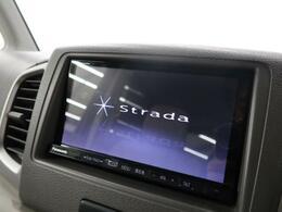 ◆【社外ナビ】使いやすいナビで目的地までしっかり案内してくれます。CD/DVDの再生もでき、ミュージックサーバー内蔵です!お車の運転がさらに楽しくなりますね!!