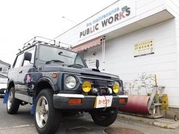 スズキ ジムニー 660 ワイルドウインド リミテッド 4WD ルーフキャリアー 背面タイヤ