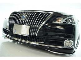 トヨタ クラウンマジェスタ 3.5 Fバージョン 本革 新品モデリスタ新品アルミ新品車高調