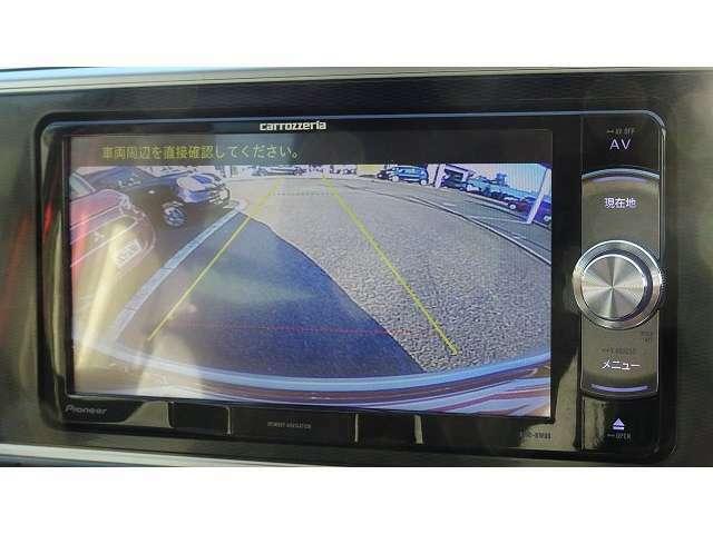 駐車も安心のバックカメラ付!TVはフルセグTV♪