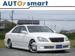 トヨタ クラウンアスリート 3.0 Gパッケージ TOMSエアロ TANABE車高調 LOWENH20アルミ