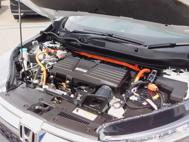 エンジンルーム・2モーターハイブリッドシステム・SPORTS HYBRIDi-MMD