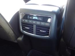 後席専用のエアコンユニット(花粉除去フィルター付)を搭載するとともに室温を3列シート全体で均一に保ちます。