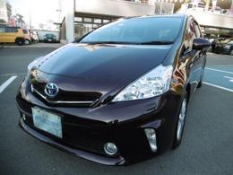 トヨタ プリウスα 1.8 S チューン ブラック ナビ TV バックカメラ LEDヘッドライト