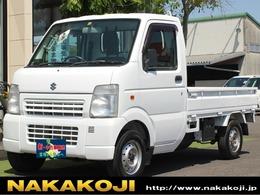 スズキ キャリイ 660 KCエアコン・パワステ 3方開 4WD 働く軽トラ 3方開き オートマチック