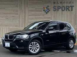 BMW X3 xドライブ20d ディーゼルターボ 4WD 純正HDDナビ Bカメラ パワーバックドア