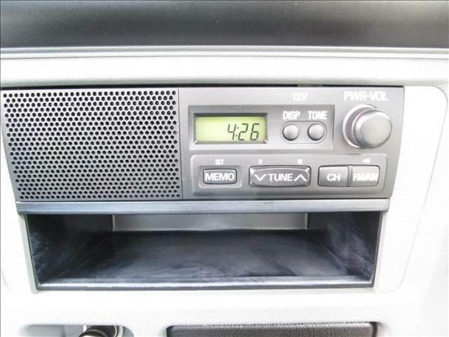 FM/AMラジオ付きです。