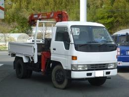 ダイハツ デルタトラック 4WD 3段クレーン フックイン2.3t吊