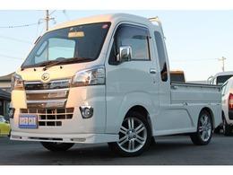 ダイハツ ハイゼットトラック 660 ジャンボ 3方開 4WD 5速MT ナビ テレビ ETC フルエアロ