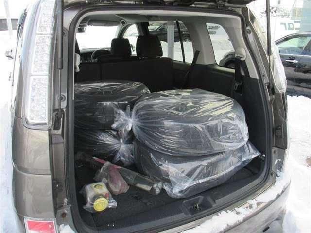 荷室です♪シートを倒せば驚きの広さに!大きな荷物を積むことが出来ます!