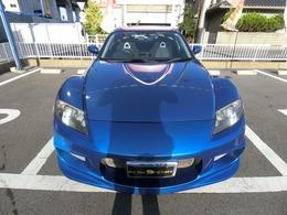 カッコイイ決まってますRX-8希少なドレスアップカー正規オークション無事故厳選仕入れ美車ですブルーメタリック色で綺麗ですまだまだ乗れます低走行7.8万kmアクセス多数大人気