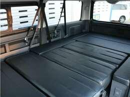 車内空間でくつろぐことが可能です!