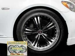 新品20インチアルミ&新品タイヤ装着