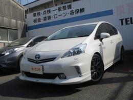 トヨタ プリウスα 1.8 G 社外ナビ/フルセグ 社外AW クルコン
