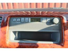 AMFMラジオが付いています。