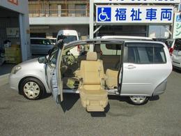 トヨタ ラウム 1.5 Gパッケージ ウェルキャブ 助手席リフトアップシート車 Aタイプ 純正福祉車両ナビ付き5人乗り