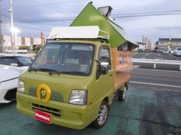 スバル サンバートラック 660 TB 三方開 キッチンカー改造車