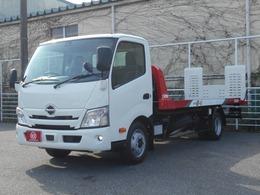 日野自動車 デュトロ 極東フラトップーII 3000kg積み積載車